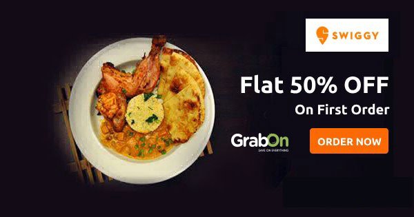 Swiggy Coupons & Offers: Free Delivery, 50% OFF Promo Code, Aug 2019