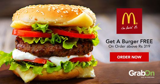 McDonald's Coupons & Offers | Buy 1 Get 1 Burger Free | Aug 2019