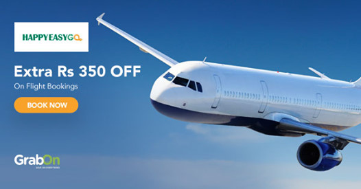 HappyEasyGo Coupons: Flight Offers Rs 2000 OFF Code | Aug 2019
