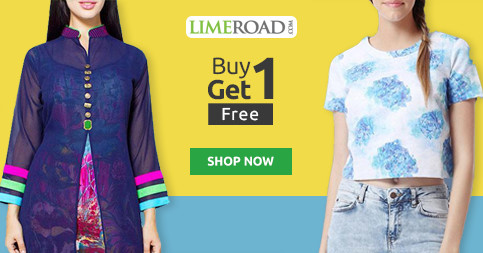 bc64b2dbe8 80% OFF Limeroad Coupons & Offers | Buy 1 Get 2 Free | Jul 2019