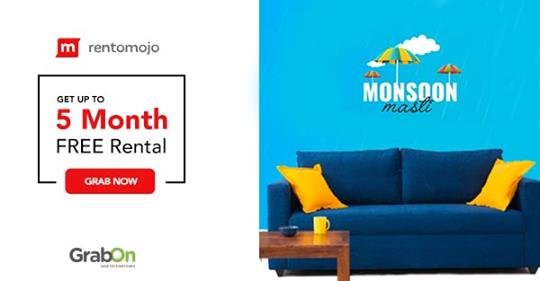 Rentomojo Coupons & Offers: Rs 1000 Off Promo Codes August 2019