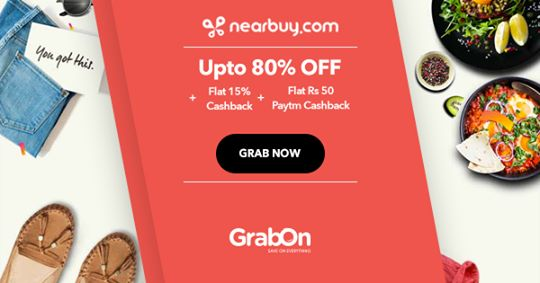 Nearbuy Coupons, Offers & Promo Codes | 100% Cashback | Aug 2019