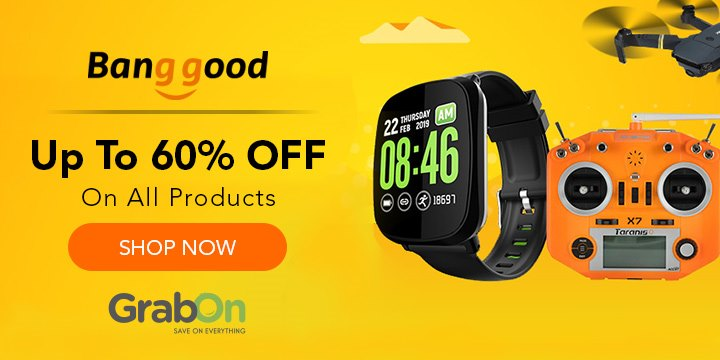 Banggood Coupons,Offers → 70% + Extra 10% OFF Code | Aug 2019