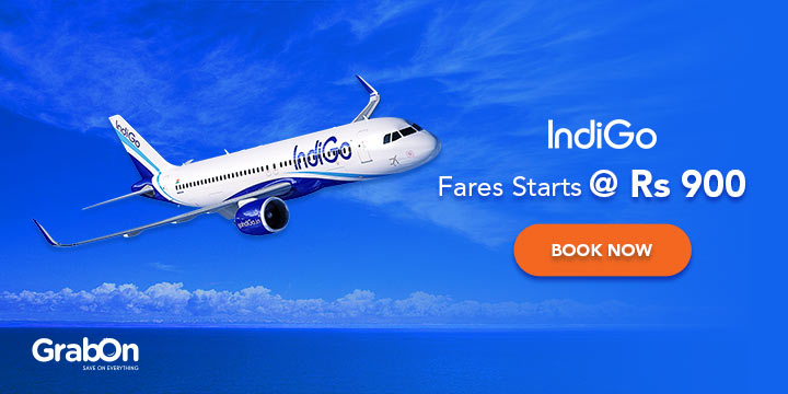 IndiGo Promo Code | Rs 899 Sale | Offers & Coupons - GrabOn