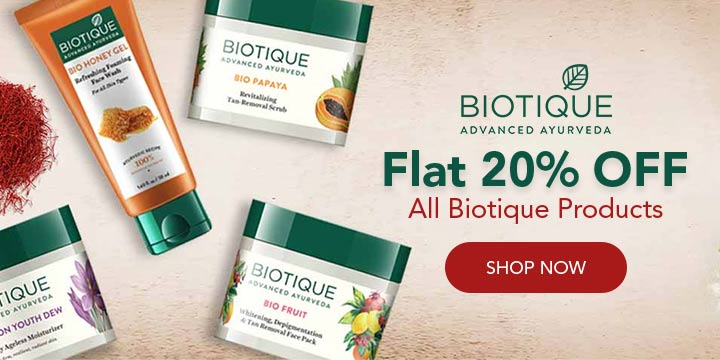 Biotique Promo Codes
