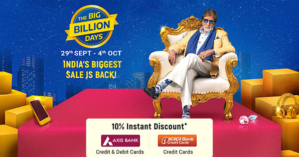 Flipkart Big Billion Days Offers