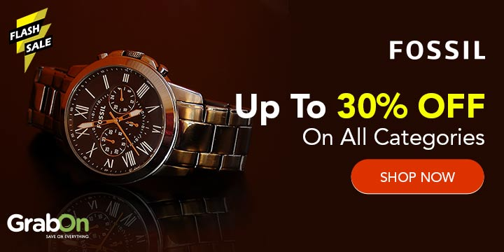 Fossil India Promo Codes 50 Off Coupons Offers Nov 2020