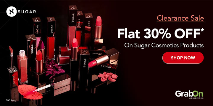 SUGAR Cosmetics Promo Codes