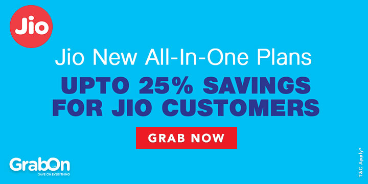 Reliance Jio Promo Codes