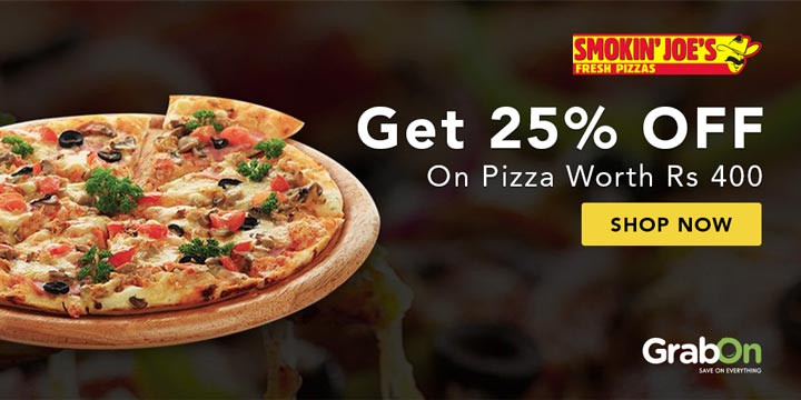 Smokin Joes Pizza Offers