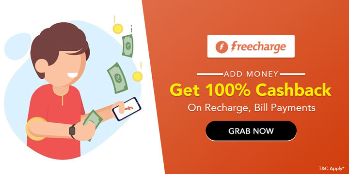 Freecharge Wallet Coupons