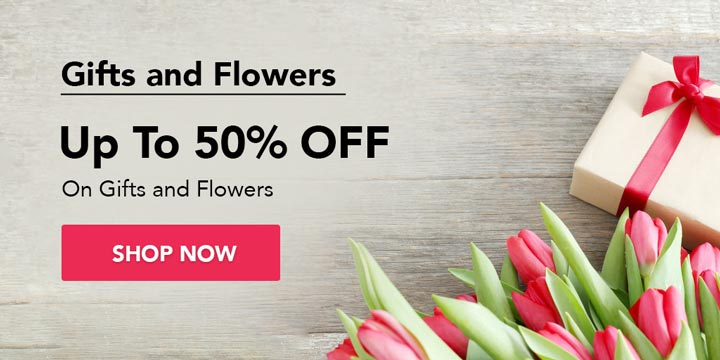 Gifts and Flowers Offers