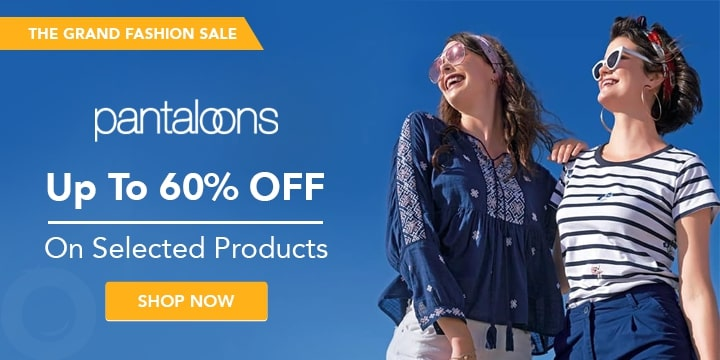 Pantaloons Offers Today