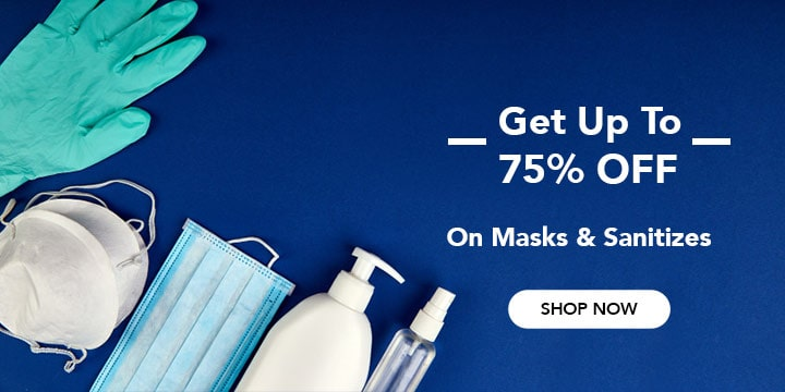 Face Masks & Sanitizers Coupons & Promo Codes