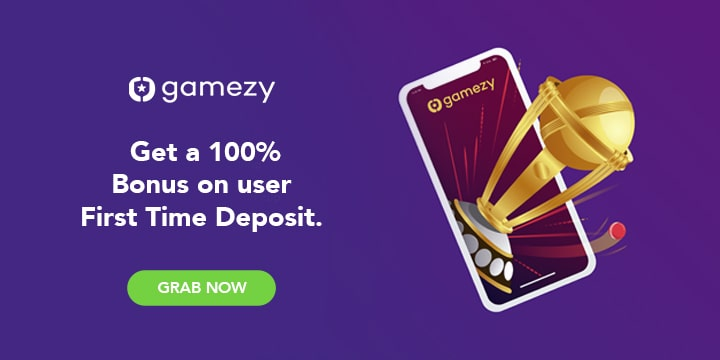 Gamezy Referral Codes & Offers