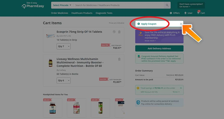 How to Use PharmEasy Coupons
