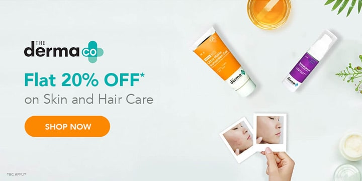 The Derma co Offers