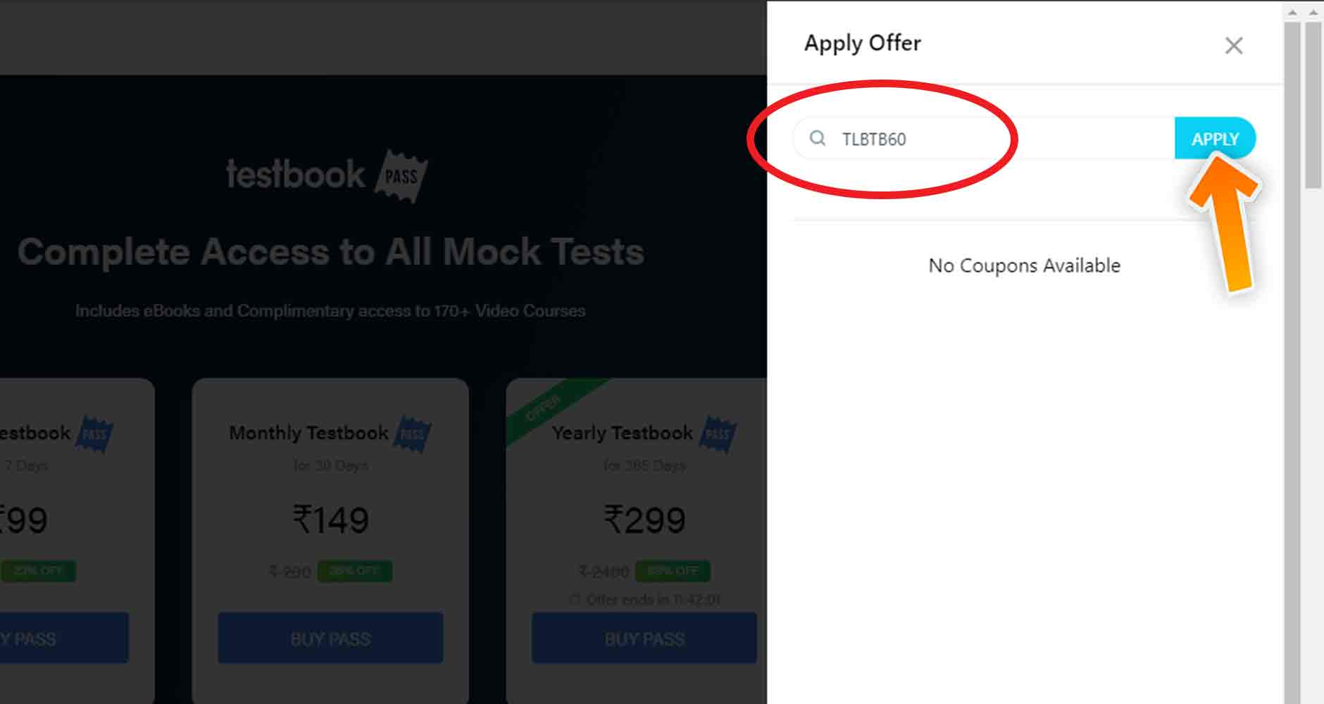 Testbook Discount Code