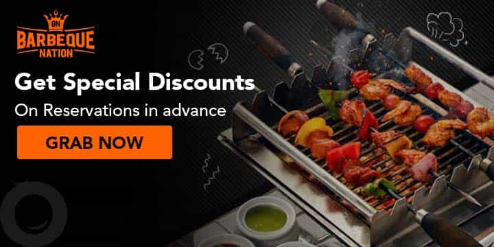 Barbeque Nation Coupons
