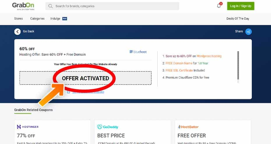 How to use BlueHost Coupons