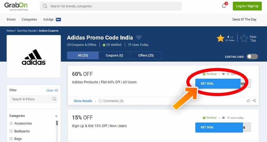 Adidas Coupon Codes