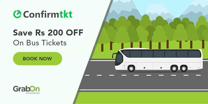 Confirm TKT Bus Booking Offers