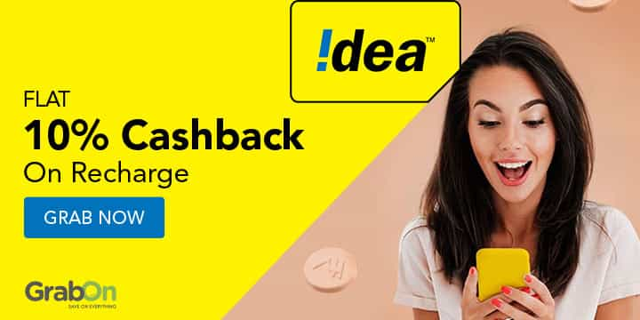 Idea Recharge Promo Codes