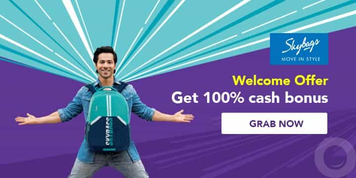 Skybags Offer Online