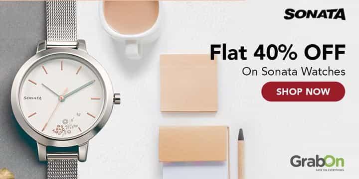 Sonata Watches Offer