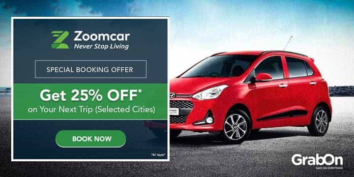 Zoomcar Promo Codes