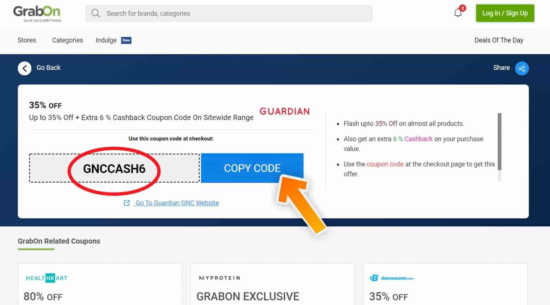 GNC Discount Code