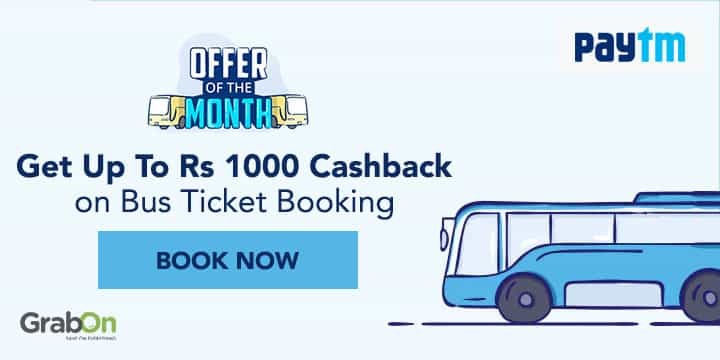 Paytm Bus Promo Codes