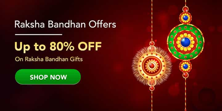 Rakhi Special Gift Offers