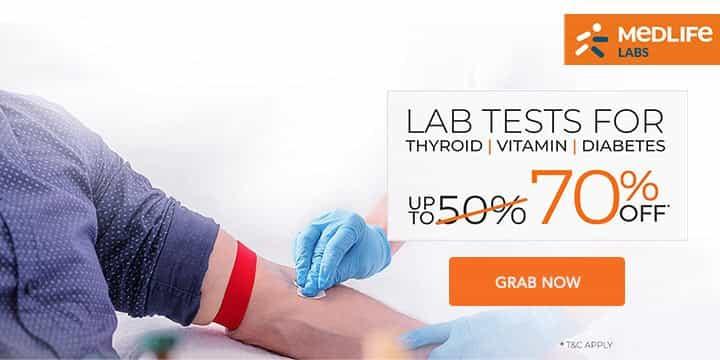 Medlife Labs Promo Codes