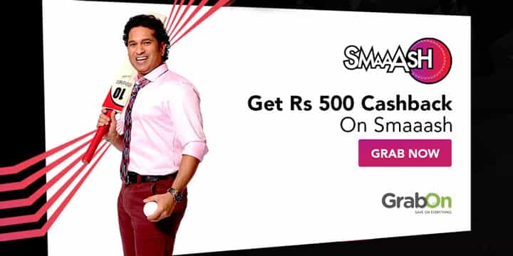 Smaaash Offers