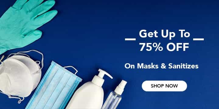 Face Masks and Sanitizers Coupons