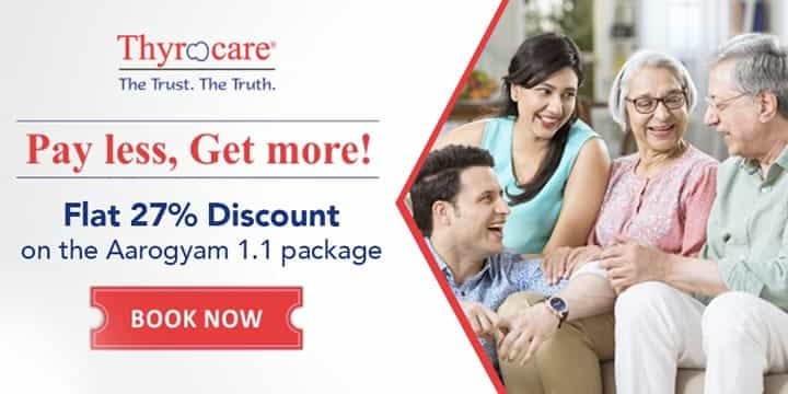 Thyrocare Offers