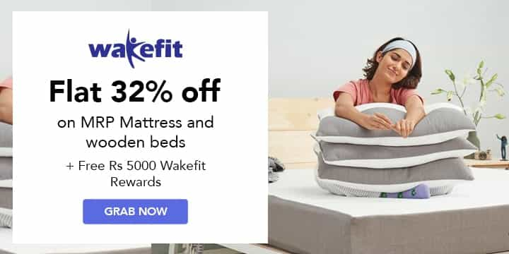 Wakefit Coupon Codes