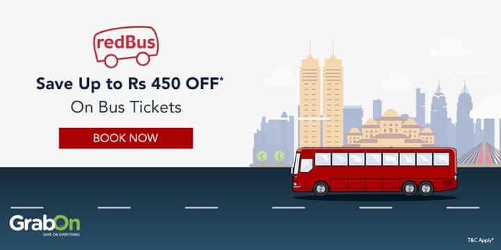 Redbus Promo Codes