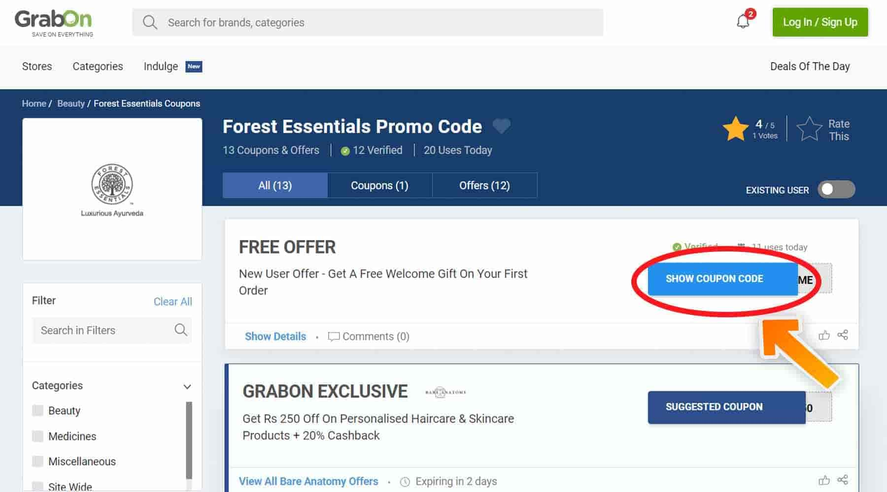 Forest Essentials Coupon Codes