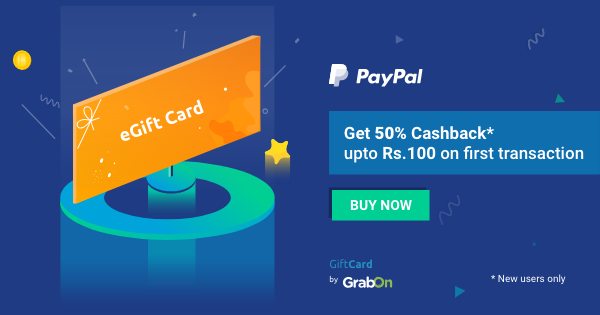 Buy Gift Cards & E-Gift Vouchers Online In India | GrabOn